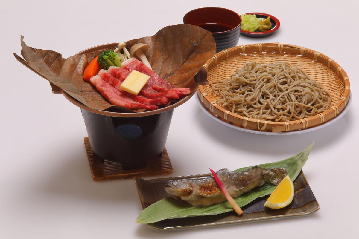 【信州牛と須賀川そば】食前酒付きの須賀川満喫プラン!2食付