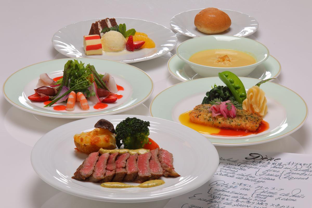 【洋食ディナー】シェフのおまかせディナープラン!1泊2食東館